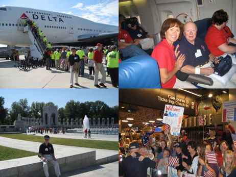 Past Village President on Stars and Stripes Honor Flight