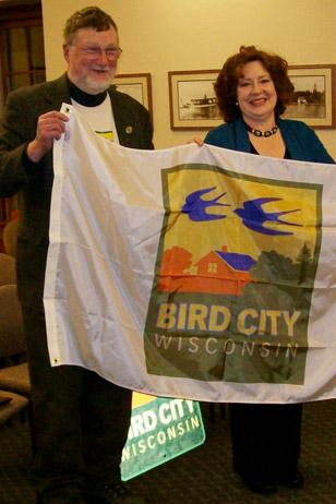 Bird City Award Presentation